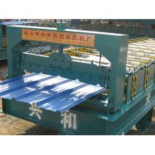 Máquina formadora de tejas de acero para paneles de techo