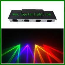 Bốn đầu Laser Hiển thị hệ thống Rgby Color Laser chiếu sáng