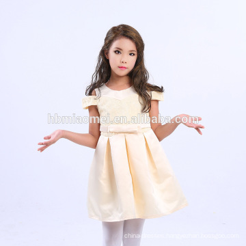 Wholesale Wedding 2-12 Years Old Latest Children Birthday A Line Knee-Length Children Frocks Designs
