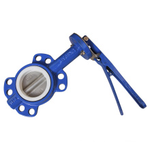 Wafer Butterfly Valve with Teflon Seat