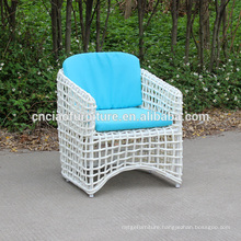 White Rattan Outdoor Chairs With Cushion