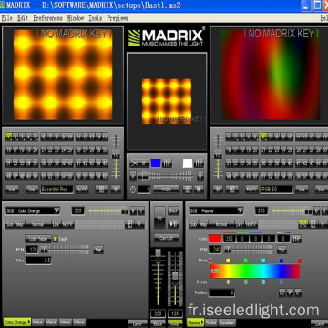 Basic Madrix Key pour DMX Club Lighting