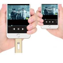 16GB OTG Flash-Speicher Metall OTG USB-Stick für iPhone
