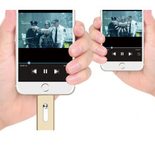 16GB OTG Flash Memory Metal OTG USB Pendrive for iPhone