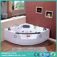 Bañera de masaje de esquina con cascada americana (CDT-004)