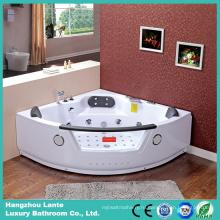 Угловая массажная ванна с американским водопадом (CDT-004)