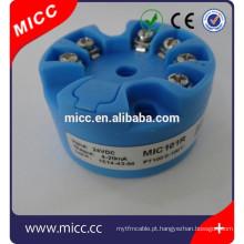 Transmissor de temperatura 4-20ma 101R MICC pt100 para venda