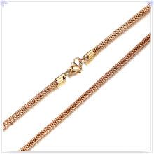 Moda colar de aço inoxidável jóias cadeia de moda (sh046)