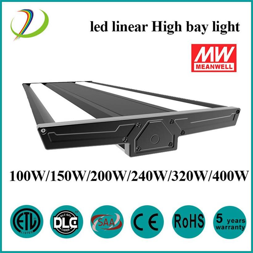 LED Linear High Bay Light 150W armazém de uso