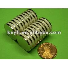 22 мм диаметр x 1,8 мм толстый N35 неодимовый магнит - 6,15 кг тянуть (север)