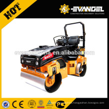 SANY 3 ton Tandem Roller 3 ton Double Drum Vibratory Roller