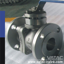 Cast Stainless Steel CF8, CF8m, CF3, CF3m Floating Ball Valve