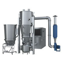 Fluidized Bed Dryer Granulator for pesticide / feed / chemical fertilizer