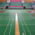 Le plancher de PVC de badminton Cour BWF a approuvé