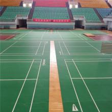 Sols sportifs en PVC pour terrain de badminton