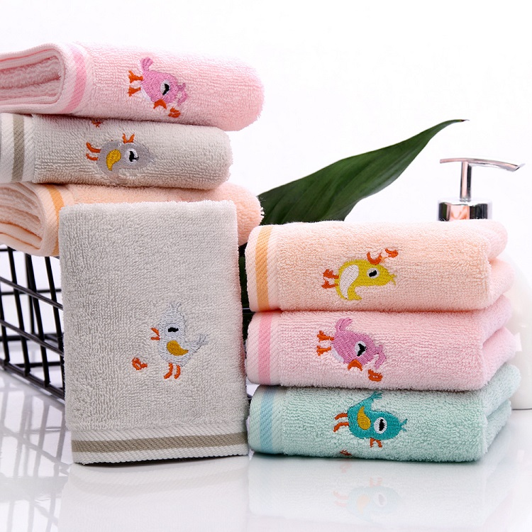 Kids Embroidery Handkerchief