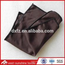 Personalisierte benutzerdefinierte Logo braun microfiber Gläser Reinigung braun Mikrofaser Reinigungstücher
