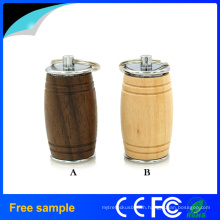 Wine Bucket Wooden and Metal USB Flash Drive with High Quality