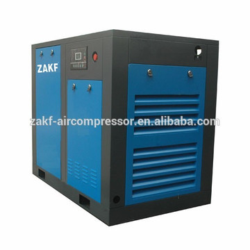 ZAKF manufacturer of 40hp 30kw direct driven rotary screw air compressor