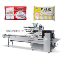 Machine à emballer automatique d'oreiller de petits pains surgelés à la vapeur