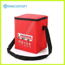 Sac refroidisseur rouge classique de papier d'aluminium de PVC (Rbc-127)