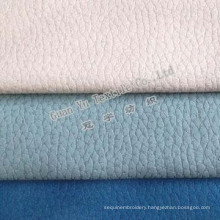 Polyester Embossed Velvet Suede Curtain and Sofa Fabric