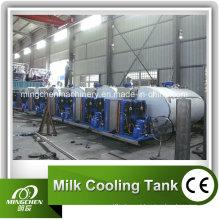 Tanque refrigerando do leite 3000L (MCLF-SZ) para o leite / suco