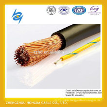 NSHXAFO 1,8/3 kV Halogen-free, flexible single core rubber cable for public transport and wiring