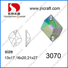 Crystal Flat Back Glass Stone for Sewing Garment