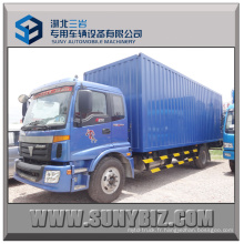 8t 10t 12t Foton Auman 4X2 Cargo Van Box Truck