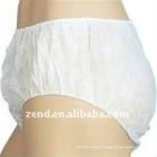 Disposable nonwoven knickers