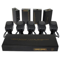 hasta 60m 1X4 HDMI Splitter Extender