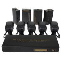 up to 60m 1X4 HDMI Splitter Extender