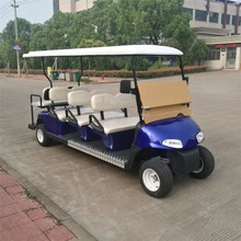 6 seat electric golf sightseeing carts for Scenic