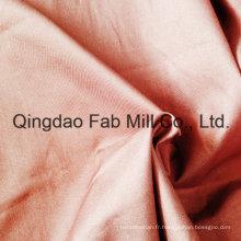 Tissu en coton organique étiré à droite (QF16-2699)