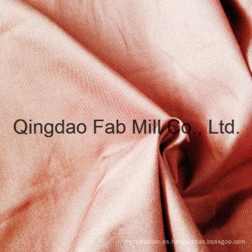 Algodón orgánico estirado tejido de sarga derecha (QF16-2699)