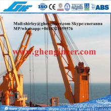 Floating Crane Unloading and Discharging Bulk Cargo