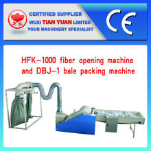 Fiber Opening Machine with Bale Packing Machine