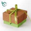 Forme a la alta calidad el logotipo redondo de la forma del triángulo de la esquina que imprime la caja de regalo vacía del chocolate del caramelo