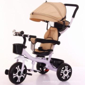 Triciclo de venda quente crianças triciclo bebê triciclo com preço de fábrica