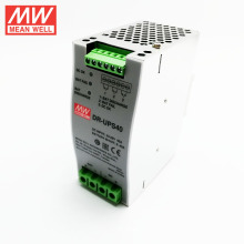 Original meanwell 40A DC UPS Module DR-UPS40 Battery controller for DIN Rail UPS system