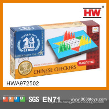 Venta caliente inteligentes Toy Magnetismo Chinese Checkers