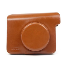 Solid Color Retro Camera Bag