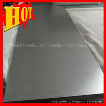 Baoji Gr 2 Placa / folha de titânio para indústria