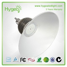 Aluminium material 180w industrial led highbay lighting and 3 year warranty led highbay housing