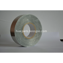 Aluminum foil packing tape with paper liner