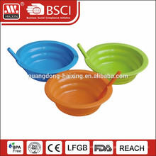 plastic ice cream bowl with straw 0.3L 0.45L 0.6L