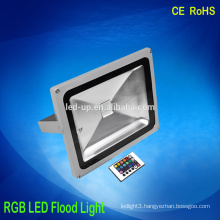 Factory Price IP65 remote control 30w rgb led flood light