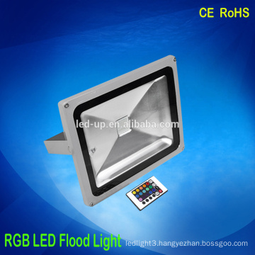 20w Waterproof Multi Color Changing Outdoor RGB LED Flood Light
