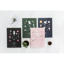 Diary with Beautiful Printing Student Exercise Notebook